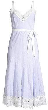 Rebecca Taylor Women's Stripe Tank Dress