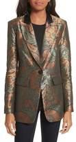 Veronica Beard Vera Metallic Jacquard Jacket