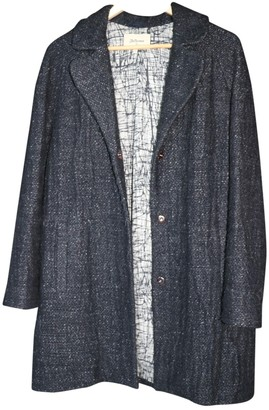 Bellerose Anthracite Cotton Coat for Women