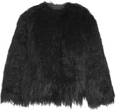 Theory Elstana Faux Shearling Jacket - Black