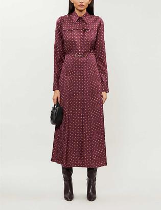 Gabriela Hearst Descartes polka-dot silk-satin maxi dress