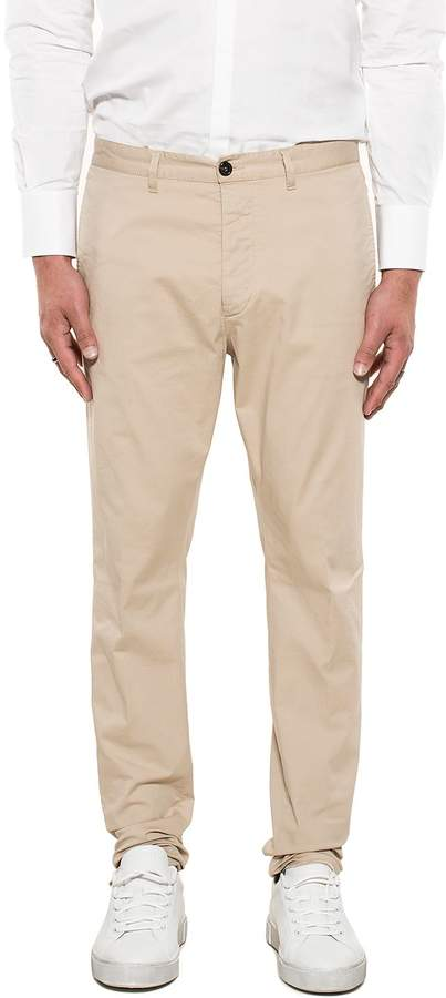 DSQUARED2 Beige Gabardine Trousers
