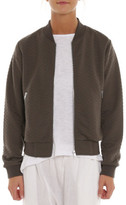 Nude Lucy Nixon Quilted Bomber