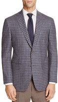 Jack Victor Loro Piana Grid Check Classic Fit Sport Coat - 100% Exclusive