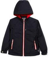 Ralph Lauren Nylon Taffeta Hooded Jacket, Size 2-4