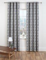 Marks and Spencer Diamond Jacquard Eyelet Curtains