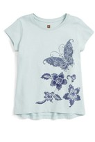 Tea Collection Toddler Girl's Bali Butterfly Graphic Tee
