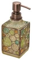 India Ink Boddington Resin Artisan Lotion Dispenser - Bronze