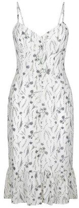 Jack Wills Ledbury Button Through Midi Cami Dress