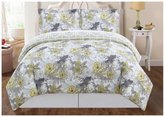 Metro Luxe Peony Floral Comforter Set - Multicolor - King - 2 - 4 pc