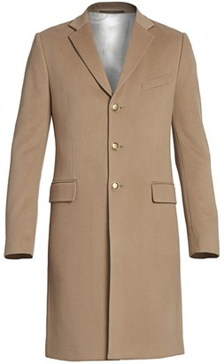 Givenchy Long Wool & Cashmere Coat