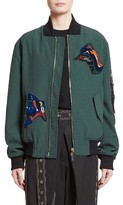 Proenza Schouler Women's Patch Embellished Bomber Jacket
