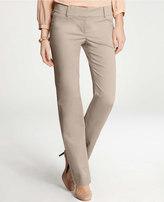 Modern Cotton Sateen Straight Leg Pants