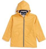 Hatley Boy's Splash Hooded Raincoat