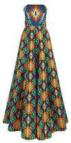 Andrew Gn Sequin Top Kaleidoscope Gown