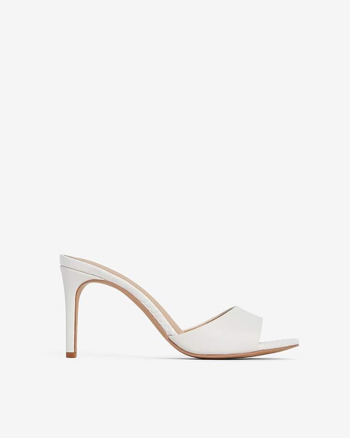 Express Slip-On Heeled Sandals
