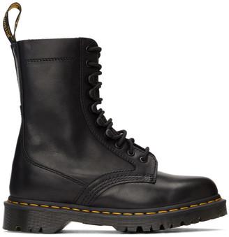 Dr. Martens Black Haron Lace-Up Boots
