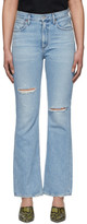 Citizens of Humanity Blue Bootcut Libby Jeans