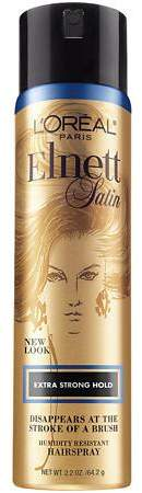 L'Oreal Elnett Satin Hairspray, Travel Size Extra Strong Hold