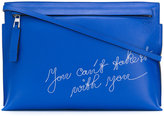Loewe T Pouch embroidered clutch