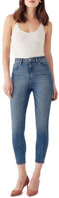 DL1961 DL 1961 Chrissy Crop: Ultra High Rise Jean Mid