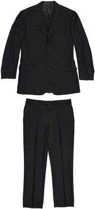 Corneliani Anthracite Wool Suits