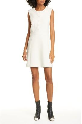 Veronica Beard Julie Crew Neck Dress