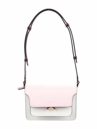 Marni Mini Trunk Shoulder Bag Pink