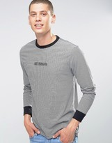Obey Long Sleeve T-shirt With Logo