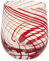 Impulse Impulse!® Marbella Rocks Old Fashioned Glasses in Red (Set of 6)