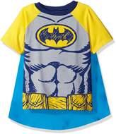 Warner Brothers Toddler Boys Batman Cape Tee Set
