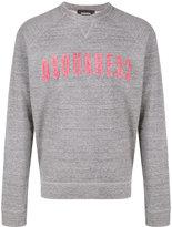 DSQUARED2 logo sweatshirt - men - Cotton - S
