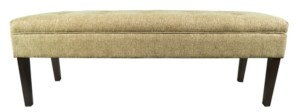 Mjl Furniture Designs Kaya Button Tufted Entryway Long Bench