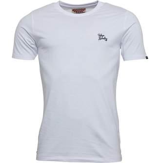 Tokyo Laundry Mens Montecarlo T-Shirt Optic White