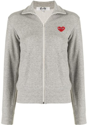 Comme Des Garçons Pre-Owned Heart Logo Print Track Jacket