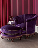 Velvet Tub Chair