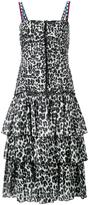Marc Jacobs leopard print dress - women - Cotton - 2