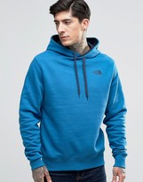 The North Face Hoodie With Hood Logo In Blue