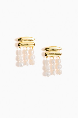 Cult Gaia Pearl Tala Earrings