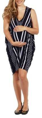24/7 Comfort Apparel Sevilla Summer Maternity Dress-- available in Plus sizes