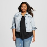 Women's Plus Size Denim Jacket - Mossimo Supply Co. (Juniors')