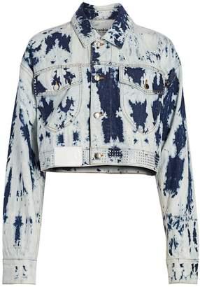 Frankie B. Bella Cropped Denim Jacket