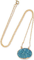 Dara Ettinger Gold-plated stone necklace