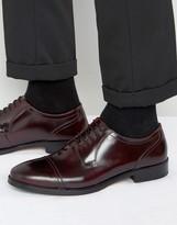Base London Noel Leather High Shine Brogue Shoes