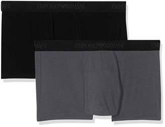 Emporio Armani Men's Men's 2-Pack Trunk/Retro Shorts Short,X-Large