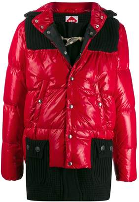 Bark B Rules Ribbed Padded Coat