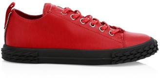 Giuseppe Zanotti Blabber Moxie Leather Low-Top Sneakers