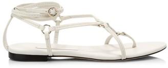 3.1 Phillip Lim Louise Flat Leather Sandals