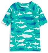 Hatley Boy's Toothy Shark Rashguard