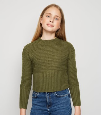 New Look Girls Ribbed Knit Jumper